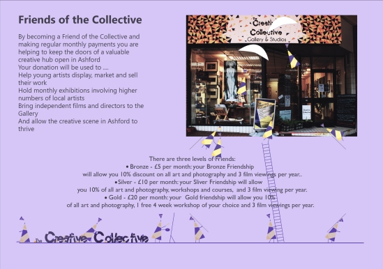 Friends of the Collective info flyer