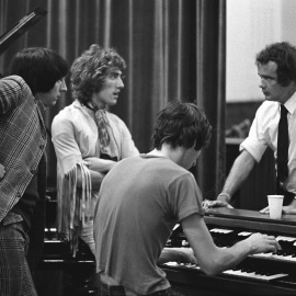 """The Who recording """"Tommy"""" 1968"""